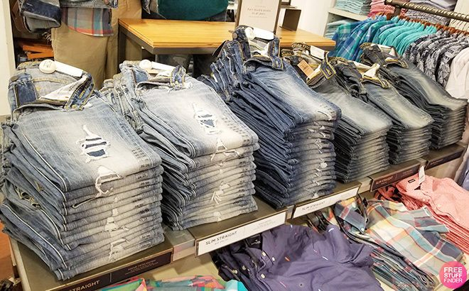 Aerie Men's & Women's Jeans and Joggers Starting at JUST $22.48 Each!