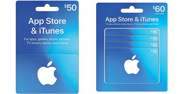 $100 App Store & iTunes Gift Card Multipack JUST $84 47 at