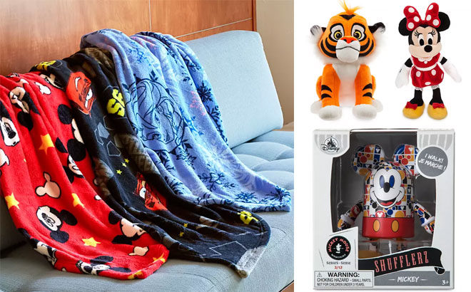 Up to 75% Off Disney Black Friday Sale - Fleece Throws for ONLY $10!