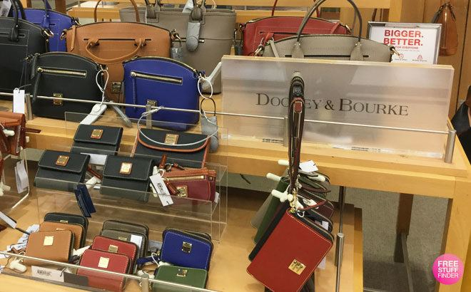 Up to 90% Off Dooney & Bourke Bags, Wallets, Wristlets & More (From ONLY $18)