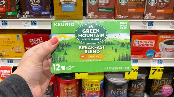 Green Mountain Coffee Pods 12-Count for ONLY $6.99 at Rite Aid (Regularly $10)