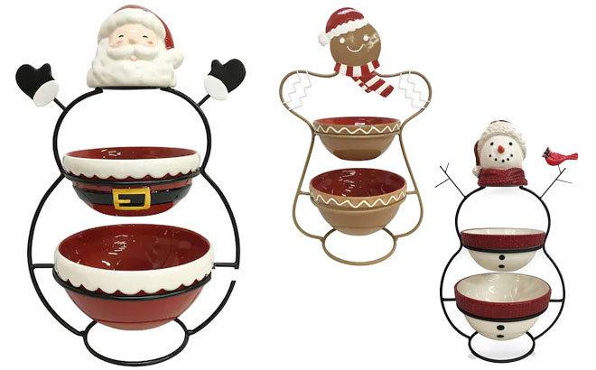 Holiday Decor Bowls From JUST $18 Each + FREE Shipping + $10 Kohl's Cash (Reg $60)