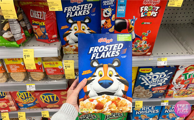Kellogg's Frosted Flakes Cereal for JUST 79¢ at Walgreens (Regularly $4.29)