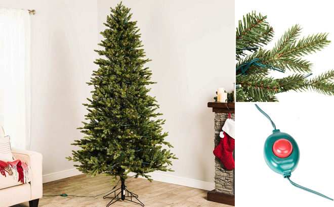 7-Foot Pre-Lit Christmas Tree with 500 Color LED Lights ONLY $98 at Lowe's (Reg $198)