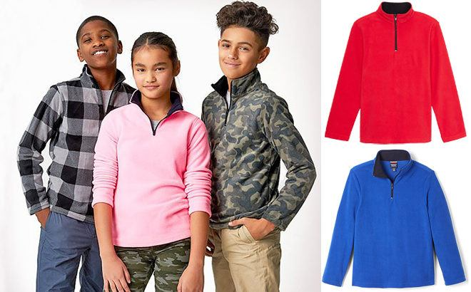Kids Microfleece Pullovers ONLY $6.99 at Zulily (Regularly $18) - Bunch of Styles!