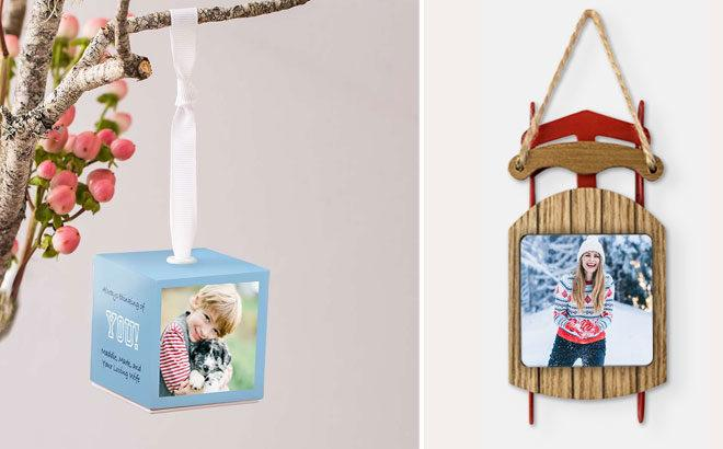 Buy One Get One FREE Personalized Photo Ornament at Walgreens + FREE Pickup