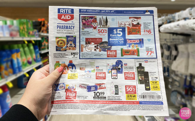 Rite Aid Weekly Matchup for Freebies & Deals This Week (11/3 – 11/9)