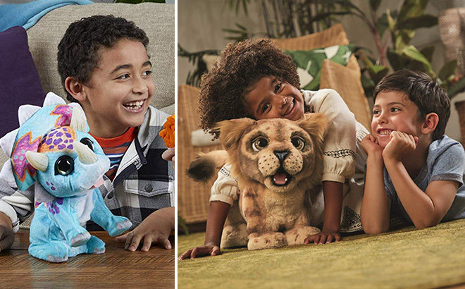 *HOT* Up to 50% Off FurReal Toys at Amazon (Chewbacca, Simba, Triceratop)