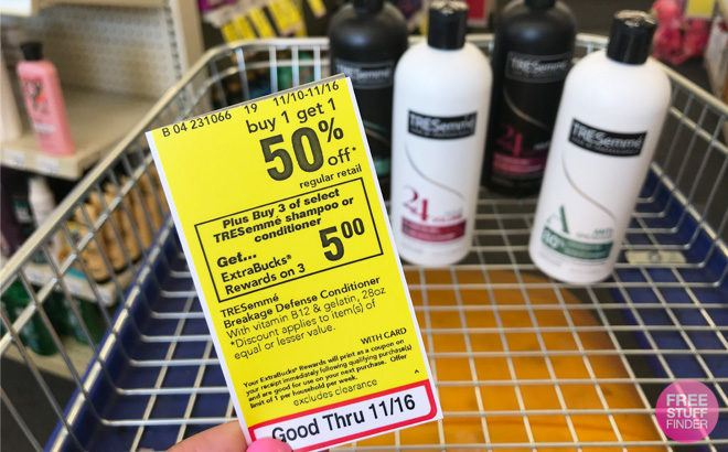 Tresemme Pro Collection Shampoo or Conditioner JUST 57¢ Each at CVS