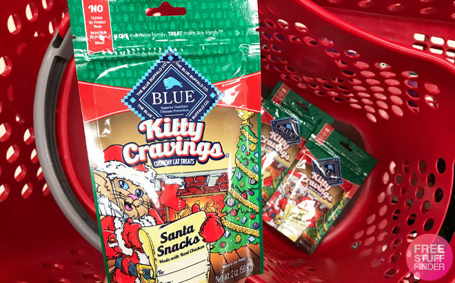 Blue Buffalo Holiday Cat Treats ONLY 74¢ at Target (Regularly $2) - Print Coupon Now!