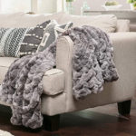 Chanasya-Ruched-Royal-Faux-Fur-Throw-Blanket
