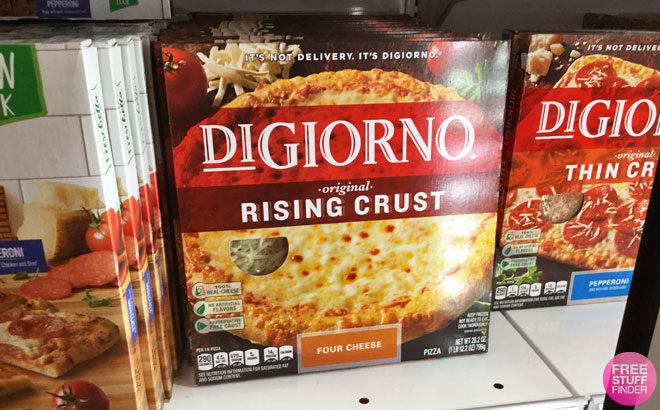 DiGiorno Pizza ONLY $1.39 at Target (Regularly $5.49) - Just Use Your Phone!