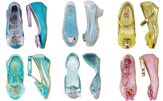 Disney Princess Shoes Starting at ONLY $15 at JCPenney (Elsa, Cinderella, Jasmine!)