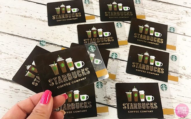 FREE $5 Starbucks Gift Card For Verizon Up Rewards Members (Check Your Account!)