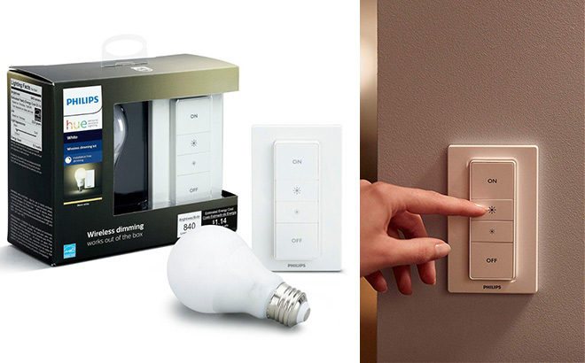 Philips Hue Smart Dimming Kit JUST $19.99 at Amazon (Reg $35) - Cyber Monday Price!