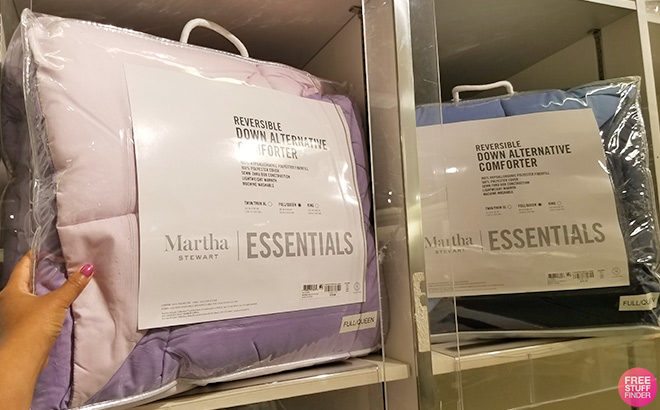 Martha Stewart Comforters ANY Size $19.99 at Macy's (Regularly $120) - Cyber Deal!