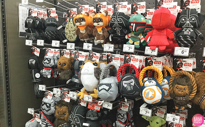 Star Wars Dog Toys Starting at JUST $4.19 at Petco (Regularly $7) - That's 40% Off!