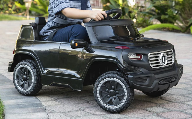 Kids' Ride-On Truck for JUST $74.99 (Regularly $143) + FREE Shipping