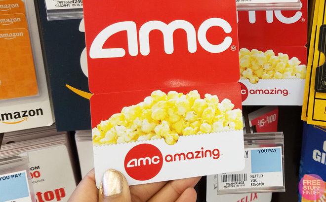 FREE $5 AMC Gift Card for Verizon Up Rewards Members - Today Only!