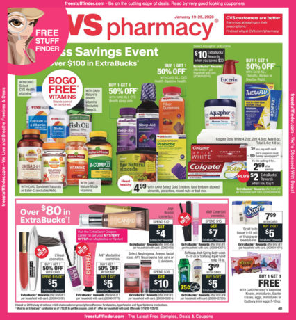 *HOT* CVS Ad Preview (Week 1/19 – 1/25)