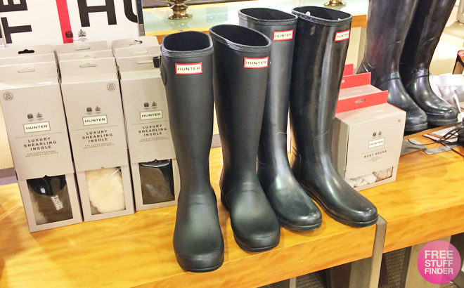 Hunter Boots for Up to 60% Off - Starting at ONLY $23.80 + FREE Shipping (Reg $55)