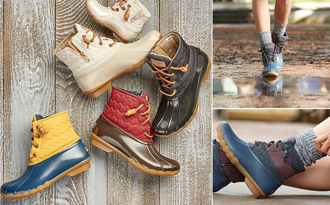 Sperry Women's Duck Boots JUST $44.99 (Regularly $130) + FREE Shipping (Last Day!)