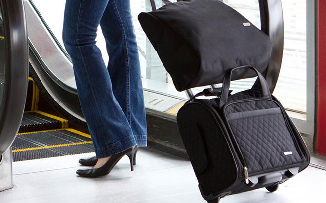 Travelon Wheeled Carry-On & Back-Up Bag Only $42.79 (Reg $66) - BEST Price!