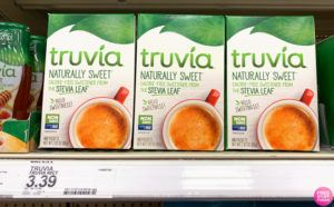 Truvia Stevia Sweetener 40-Count JUST 39¢ at Target (Regularly $3.39) - Print Now!