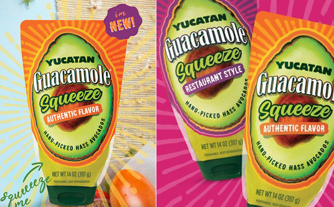 FREE Yucatan Guacamole Squeeze Product (Print Coupon Now!)