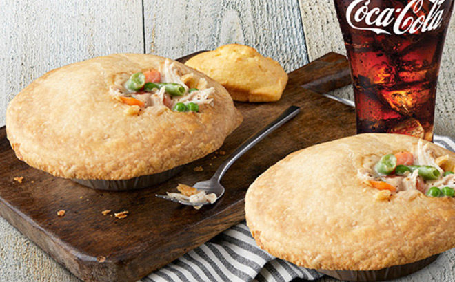 FREE Boston Market Pot Pie with Pot Pie & Drink Purchase - Ends Today!