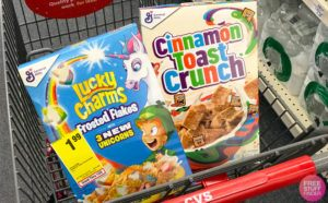 General Mills Cereal JUST $1.49 Each at CVS (Regularly $5) - Just Use Your Phone!
