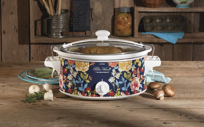 The Pioneer Woman 6-Quart Slow Cooker ONLY $24.99 + FREE Pickup (Reg $40)