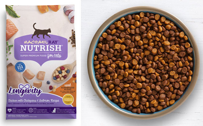 Rachael Ray Dry Cat Food 3-Pound Bag for ONLY $3.70 at Walmart (Regularly $6.44)