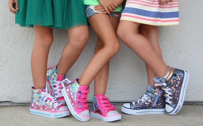 Skechers Girls' Twinkle Toes Sneakers & Boots Starting at JUST $20 (Regularly $45)