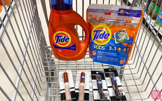 Tide Detergent, Pods & Covergirl ONLY 99¢ Each at Rite Aid - Print Coupons Now!