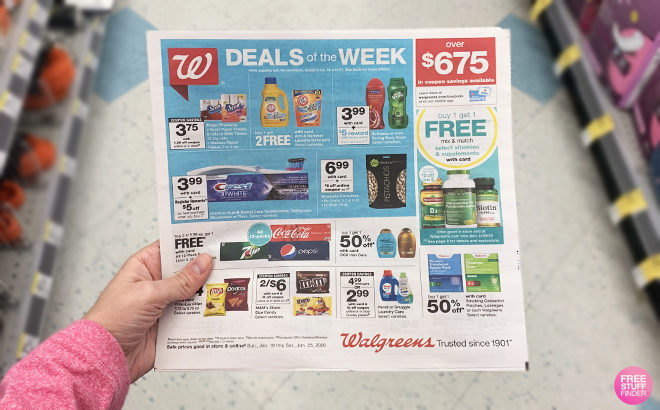 Walgreens Weekly Matchup for Freebies & Deals This Week (1/19 - 1/25)
