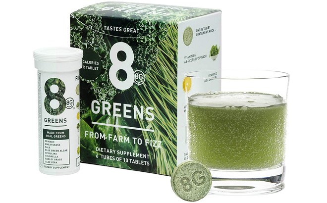 FREE Sample of 8Greens Effervescent Tablet - Request Yours Now!