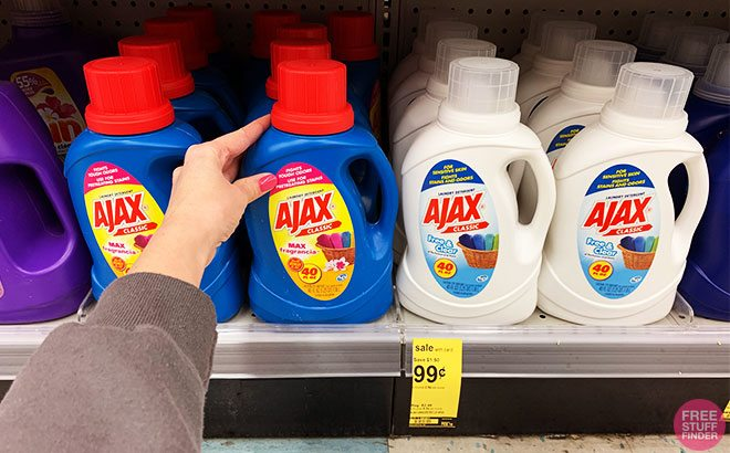 Ajax Laundry Detergent JUST 99¢ at Walgreens (Reg $2.79) - No Coupons Needed!
