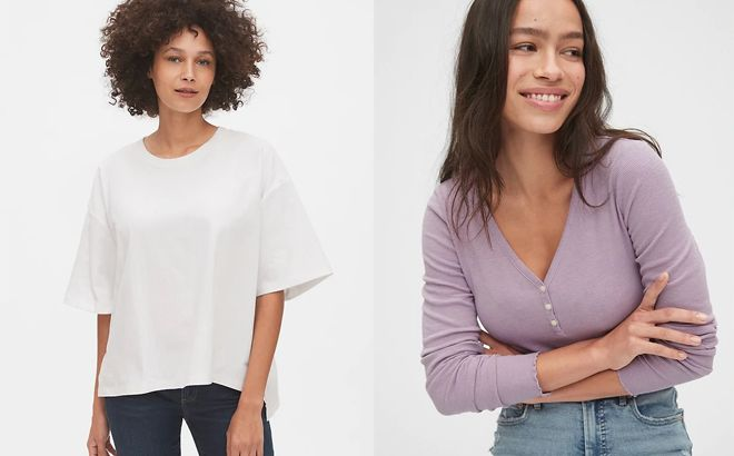 GAP Sweaters & Tees Up to 80% Off - Prices Starting at JUST $7.20!