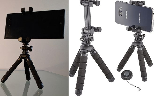 Insignia Tripod & Bluetooth Shutter Remote ONLY $9.99 at Best Buy (Reg $30)