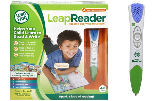 LeapFrog LeapReader Reading & Writing System ONLY $17.99 at Amazon (Reg $35)