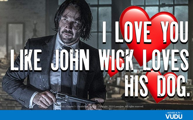 FREE Movie-Themed Valentine's Day Card from Vudu - ENDS Today!