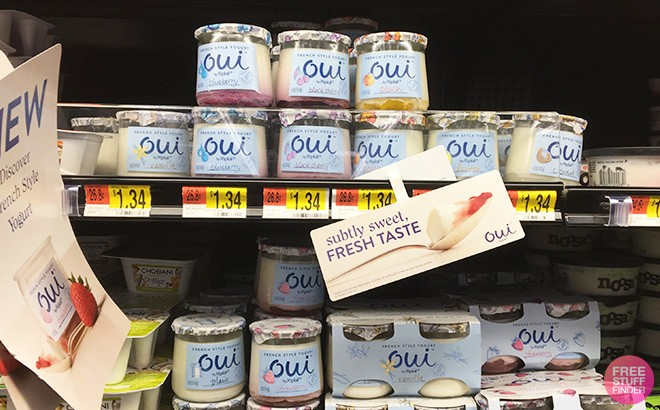 FREE Oui by Yoplait Yogurt at Walmart – Using Just Your Phone!