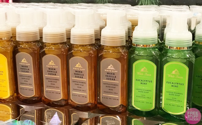 Bath & Body Works Hand Soaps JUST $2 Each (Regularly $7.50) – Today Only!