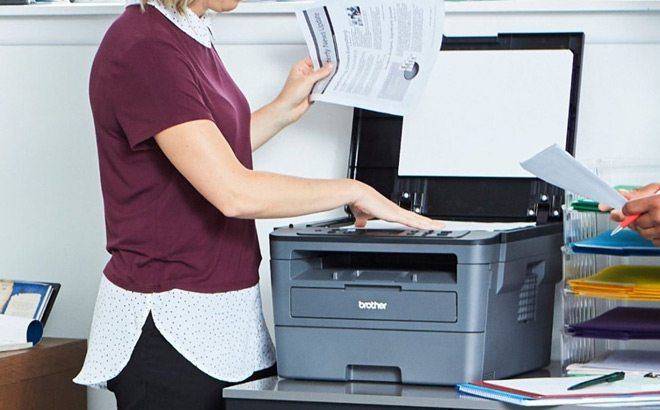 Brother Wireless Laser Printer JUST $84 + FREE Shipping at Staples (Regularly $150)