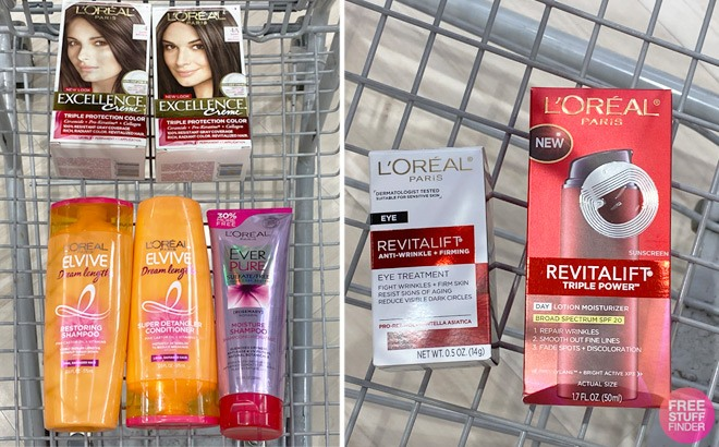 L'Oreal Hair Care Products ONLY $1.71 Each at Rite Aid - Print Coupon Now!