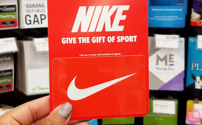 FREE $5 Nike Gift Card for Verizon Up Rewards Members – Check Your Account!