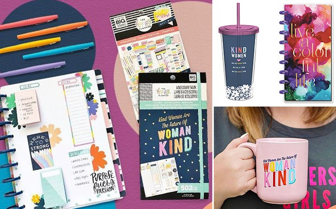 The Happy Planner Items Up to 70% Off at Zulily (Women's Tees From ONLY $5!)