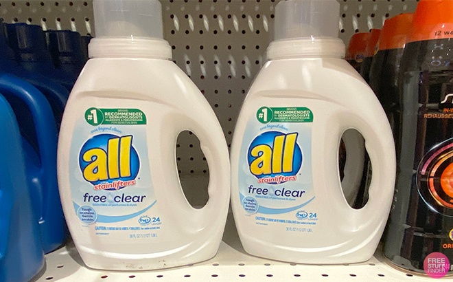 All Laundry Detergent JUST $1.99 at Rite Aid (Regularly $7)