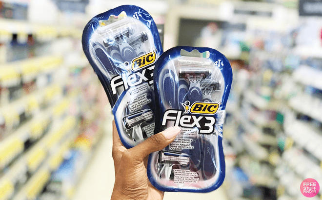 FREE BIC Disposable Razors Up to $10 Value After Mail-in Rebate (In-store and Online!)